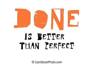 meglio, perfetto, fatto, paragonato a