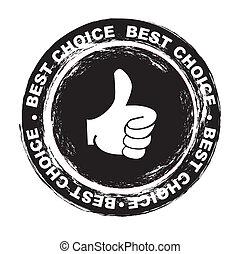 meglio, scelta