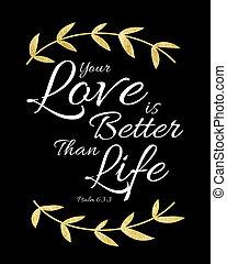 meglio, vita, amore, paragonato a, tuo