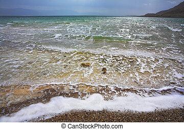 megrohamoz, dead tenger