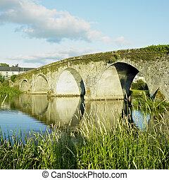 megye, kilkenny, bennettsbridge, bridzs, írország