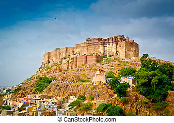 mehrangarh の城砦