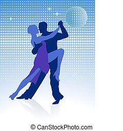 meia-noite, ao redor, tango