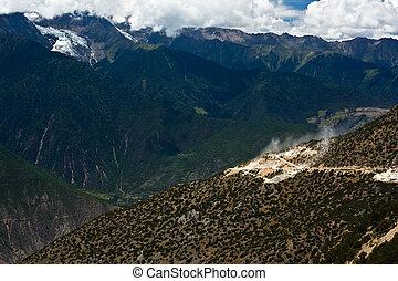 Meili snow mountain landscape
