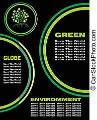 meio ambiente, fundo