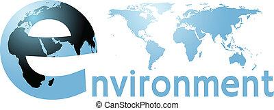 meio ambiente, terra planeta, mapa mundial