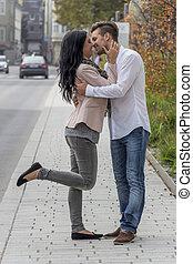 meio ambiente, urbano, par, amando