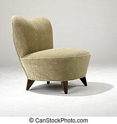 meio, século, modernos, cadeira