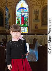 meisje, bijbel