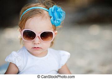 meisje, toddler, schattige