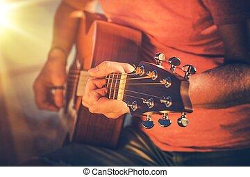 meistern, akustikgitarre