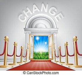 mejor, concepto, cambio