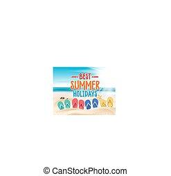 mejor, días de fiesta de verano, título, palabras