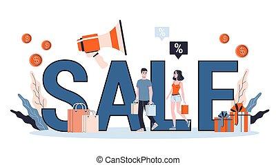 mejor, grande, price., discount., oferta, venta, especial, concept.