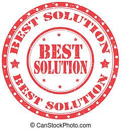 mejor, solution-stamp