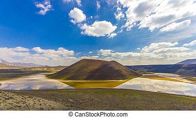 meke, crater 湖