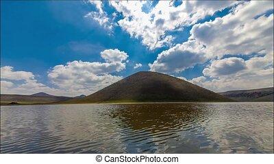 meke lake - meke crater lake, konya