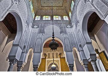 meknes, marruecos, ismail, mausoleo, moulay
