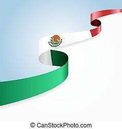 meksykańska bandera, tło.