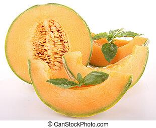 melón, aislado