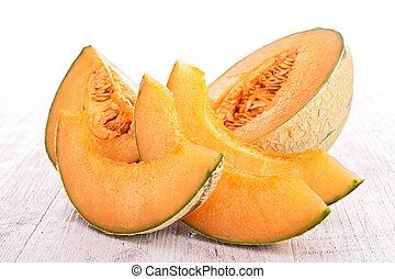 melón, fresco
