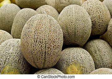 melón, roca