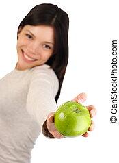 mela, donna
