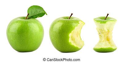 mela verde, fila