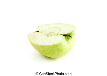 mela verde, mezzo