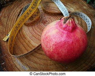 melagrana, frutta, dieta