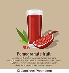 melagrana, frutta