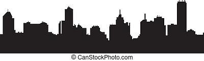 melbourne australia skyline