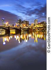 Melbourne Australia - Melbourne, Australia, viewed over the...