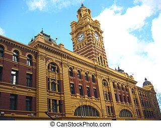 Melbourne Train Station