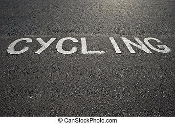 meldingsbord, cycling