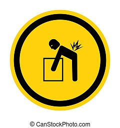 meldingsbord, eps.10, symbool, illustratie, isoleren, vector...