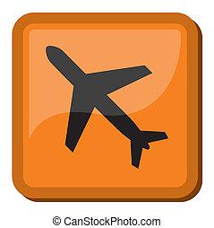 meldingsbord, luchthaven