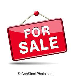 meldingsbord, verkoop
