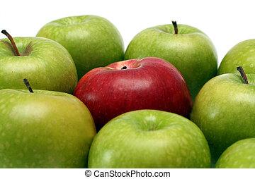mele, separazione, concetti