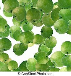 mele verdi, fondo