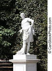 Meleager - Greek mythology - Vienna, Austria - statue of...