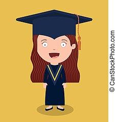 melhor, classe, graduação, desenho