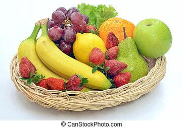 melhor, fruta, &, legumes, quadros