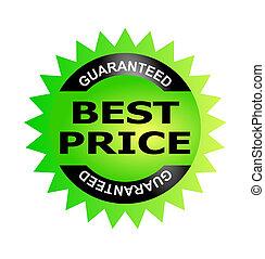 melhor, guaranteed, preço