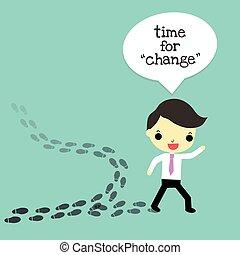 melhor, mudança