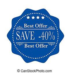 melhor, oferta, salvar, 40%