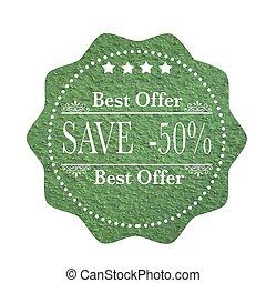 melhor, oferta, salvar, -50%