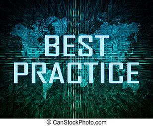 melhor, prática