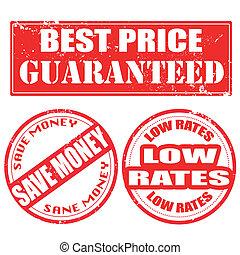 melhor, preço, guaranteed, exceto dinheiro, baixo, taxas, selo