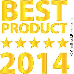 melhor, produto, distinção, 2014
